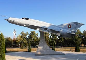 502 - Bulgaria - Air Force Mikoyan-Gurevich MiG-21bis