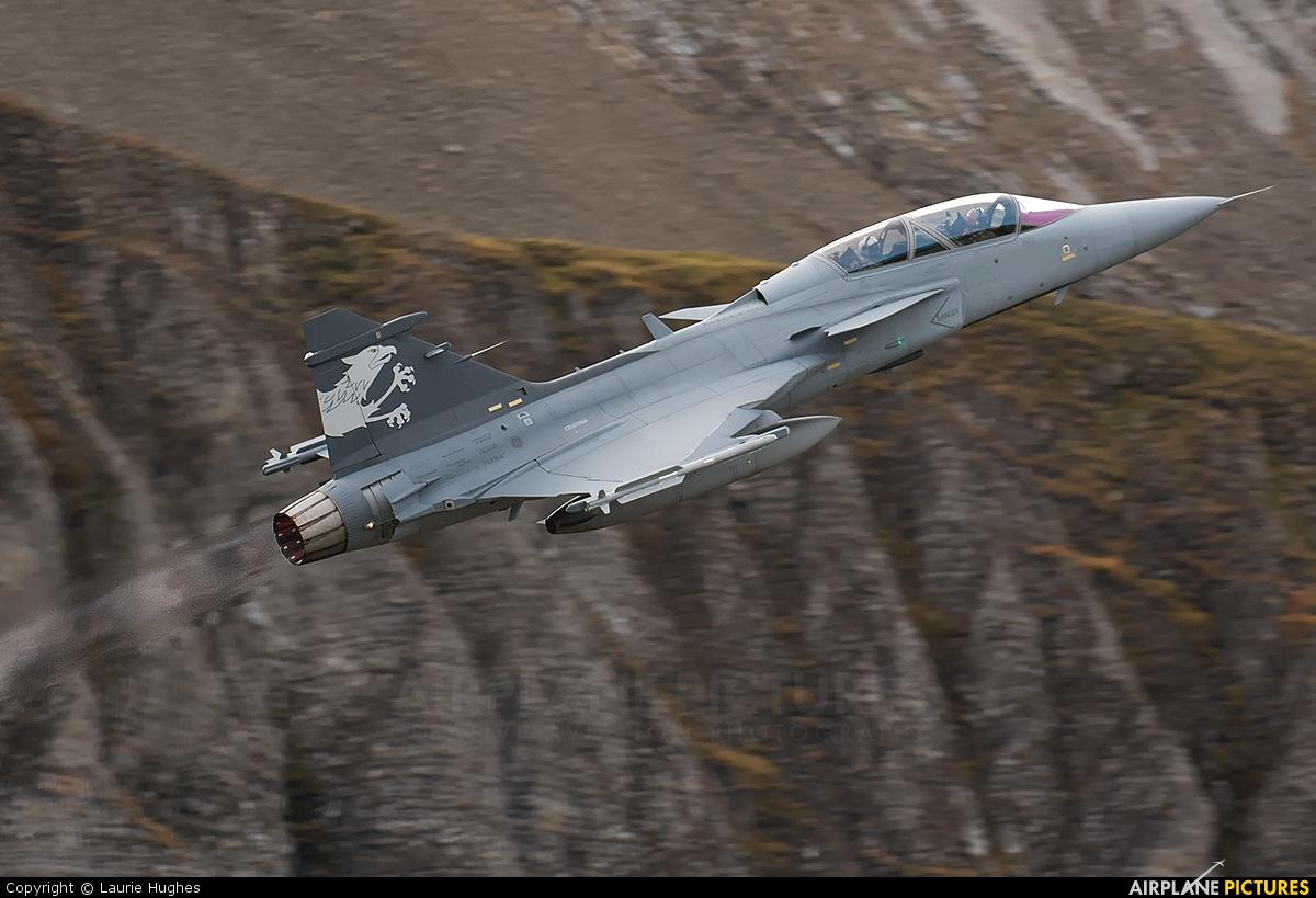Sweden - Air Force - aircraft at Axalp - Ebenfluh Range