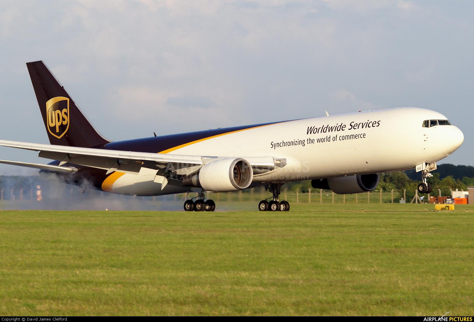UPS - United Parcel Service N313UP aircraft at East Midlands