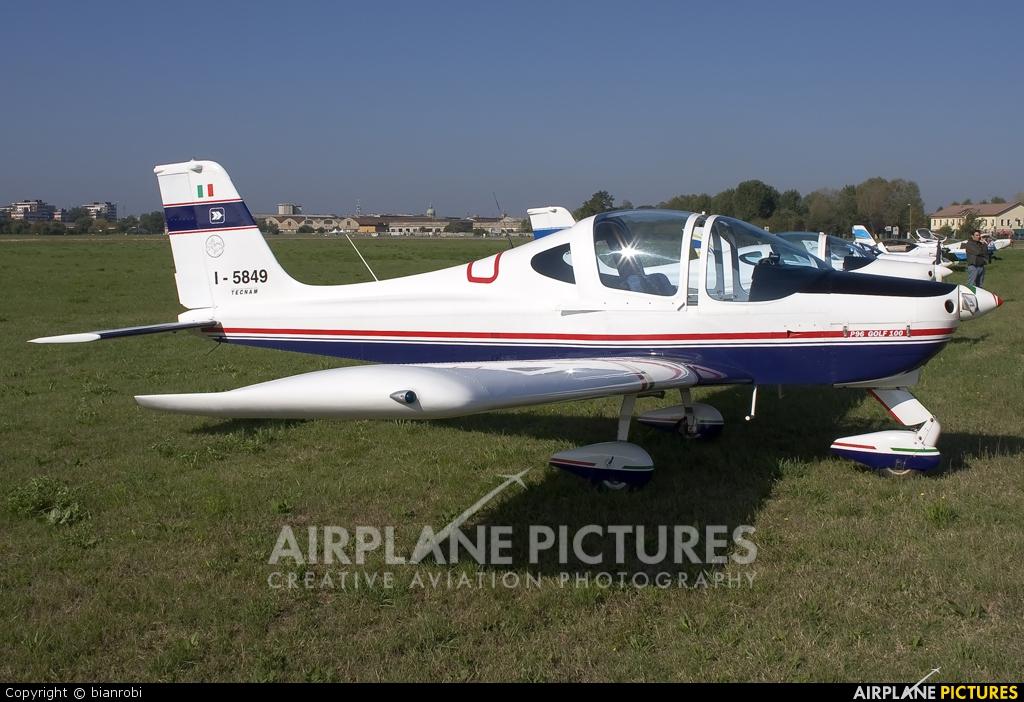 Private I-5849 aircraft at Reggio Emilia