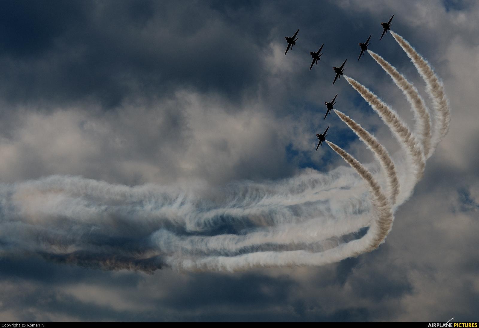 """Royal Air Force """"Red Arrows"""" - aircraft at Ostrava Mošnov"""