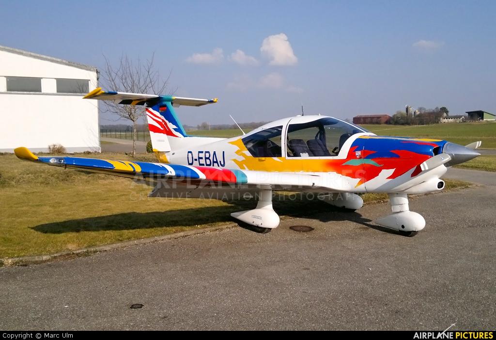 Private D-EBAJ aircraft at Biberach an der Riss