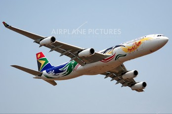 ZS-SXD - South African Airways Airbus A340-300