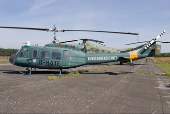 D-HATE - Bundesgrenzschutz Bell UH-1D Iroquois