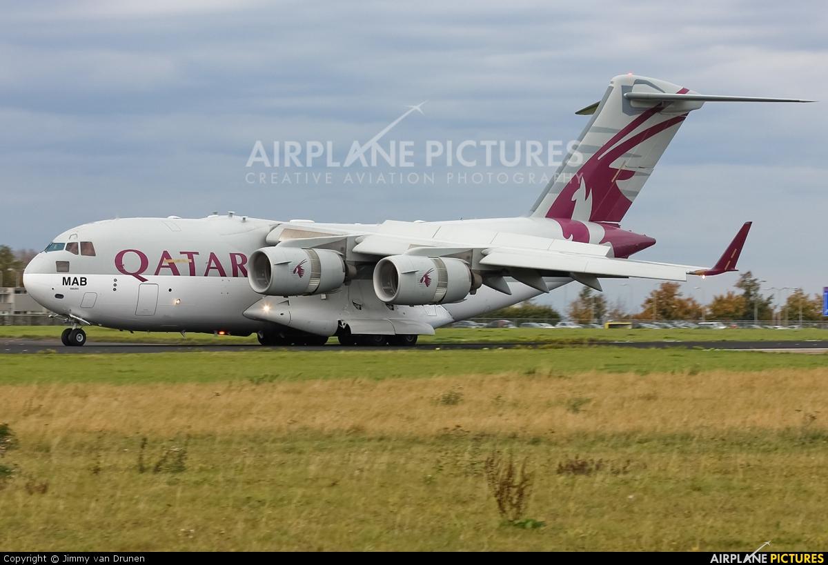 Qatar Amiri Flight A7-MAB aircraft at Maastricht - Aachen