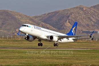 P4-KCE - Air Astana Embraer ERJ-190 (190-100)
