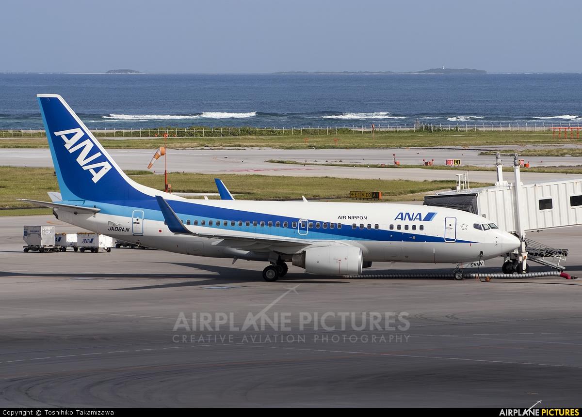 ANA - All Nippon Airways JA06AN aircraft at Naha