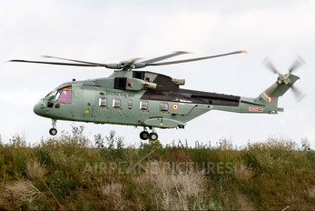 ZR342 - India - Air Force Agusta Westland AW101 641 Merlin (India)