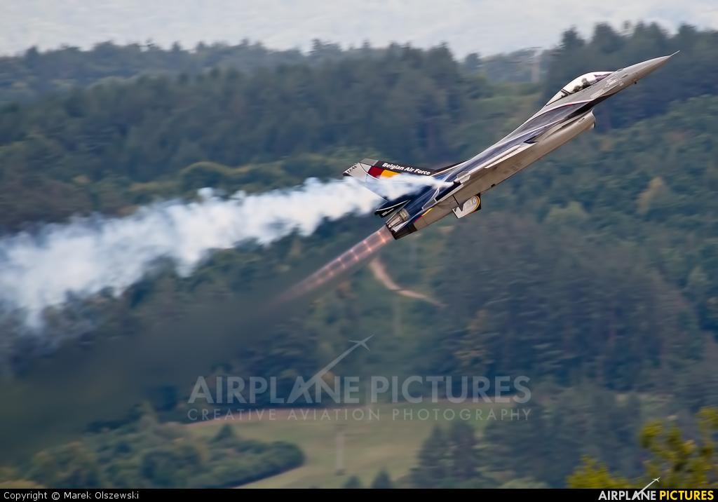 Belgium - Air Force FA-84 aircraft at Sliač