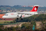 HB-IYW - Swiss British Aerospace BAe 146-300/Avro RJ100 aircraft