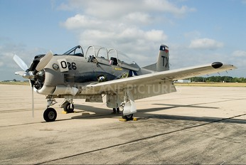 NX5443U - Private North American T-28B Trojan