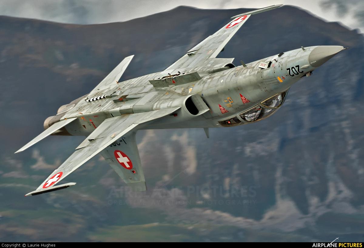 Switzerland - Air Force J-3202 aircraft at Axalp - Ebenfluh Range