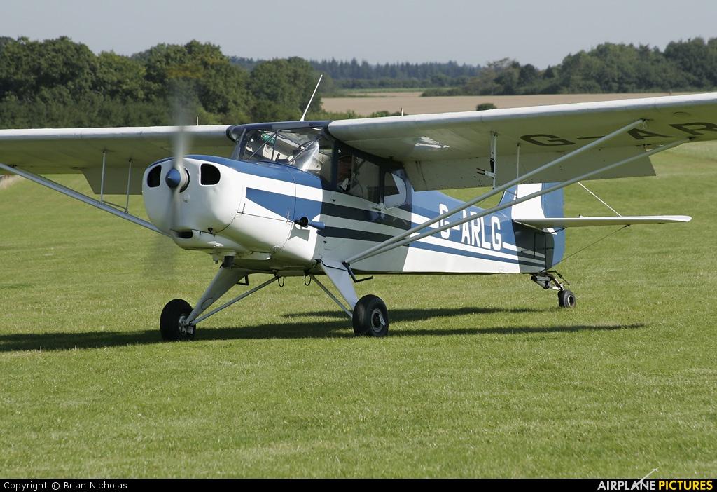 Private G-ARLG aircraft at Popham