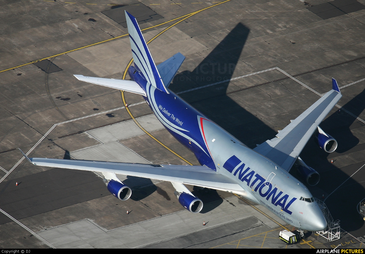 National Airlines N949CA aircraft at Prestwick