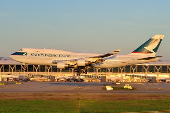 B-HKX - Cathay Pacific Cargo Boeing 747-400BCF, SF, BDSF