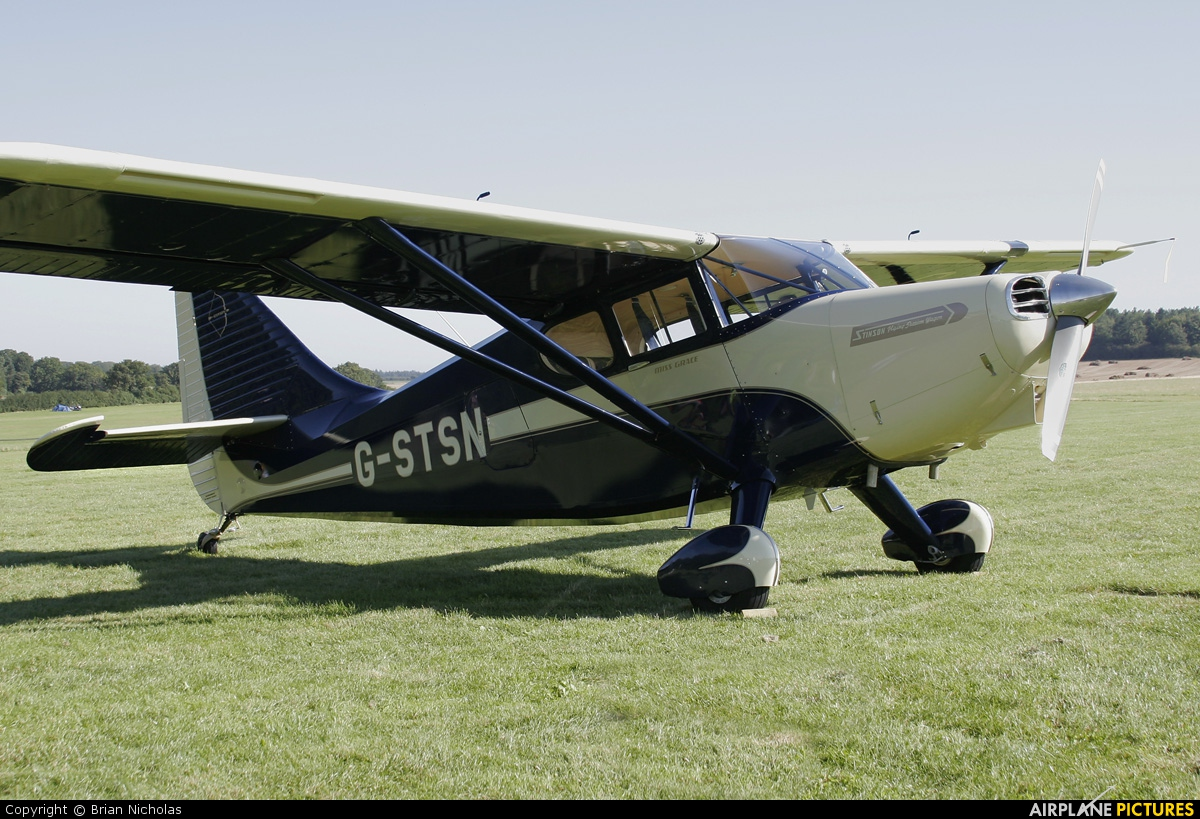 Private G-STSN aircraft at Popham
