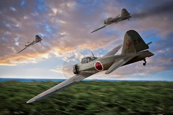 - - Japan - Imperial Air Force (WW2) Mitsubishi A6M3 Zero