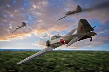 - - Japan - Imperial Air Force (WW2) Mitsubishi A6M3 Zero
