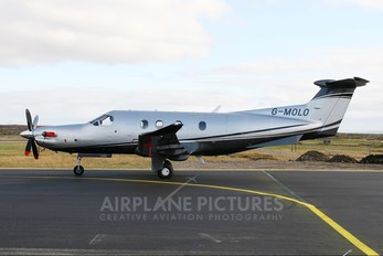 G-MOLO - Private Pilatus PC-12