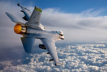 - - USA - Air National Guard General Dynamics F-16A Fighting Falcon