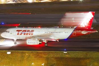 PR-MBV - TAM Airbus A319