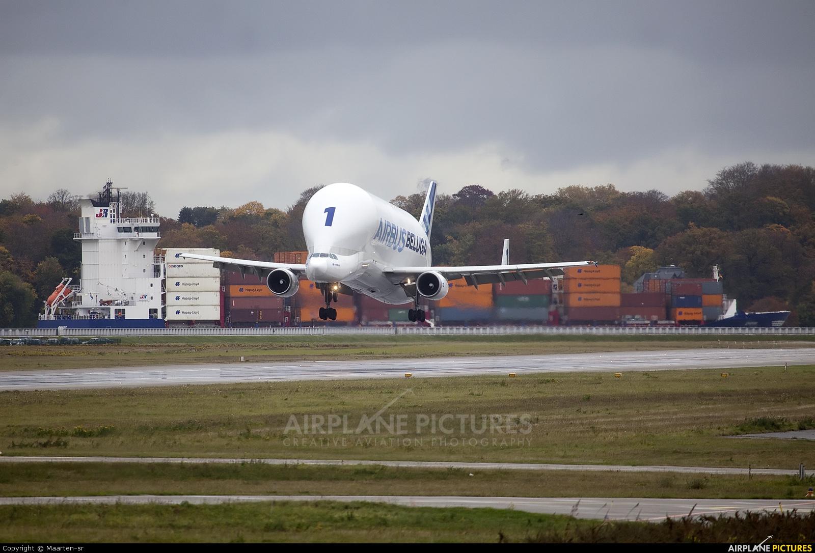 Airbus Industrie F-GSTA aircraft at Hamburg - Finkenwerder