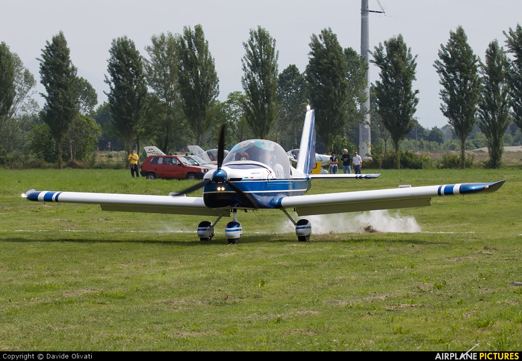Private I-A450 aircraft at Bergamo - Caravaggio