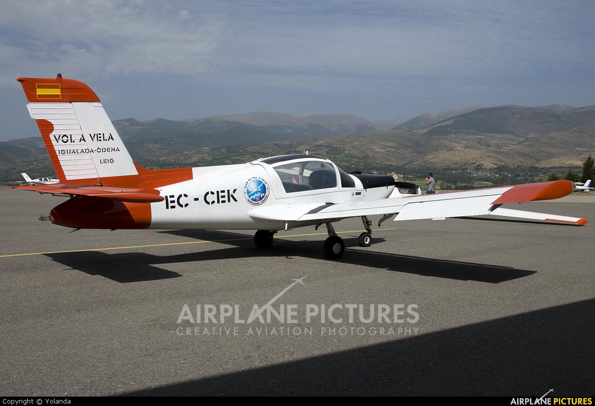 Private EC-CEK aircraft at La Cerdanya