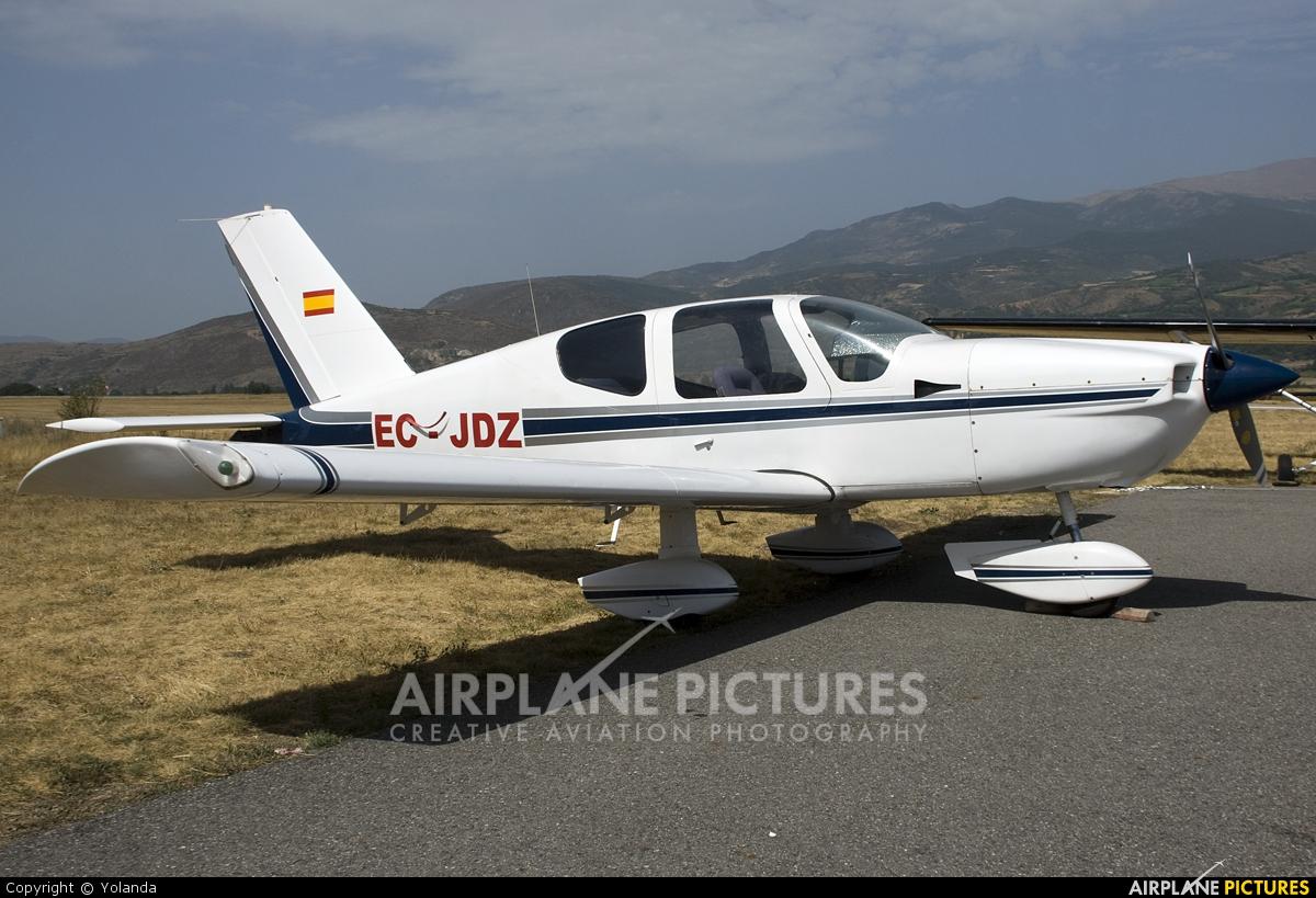 Private EC-JDZ aircraft at La Cerdanya