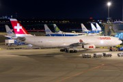 HB-JML - Swiss Airbus A340-300 aircraft