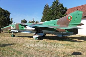 63 - Bulgaria - Air Force Mikoyan-Gurevich MiG-23BN