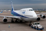 JA8965 - ANA - All Nippon Airways Boeing 747-400D aircraft