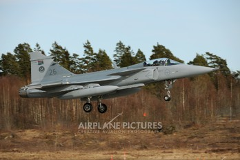 26 - South Africa - Air Force SAAB JAS 39C Gripen