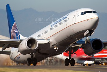 N76504 - Continental Airlines Boeing 737-800