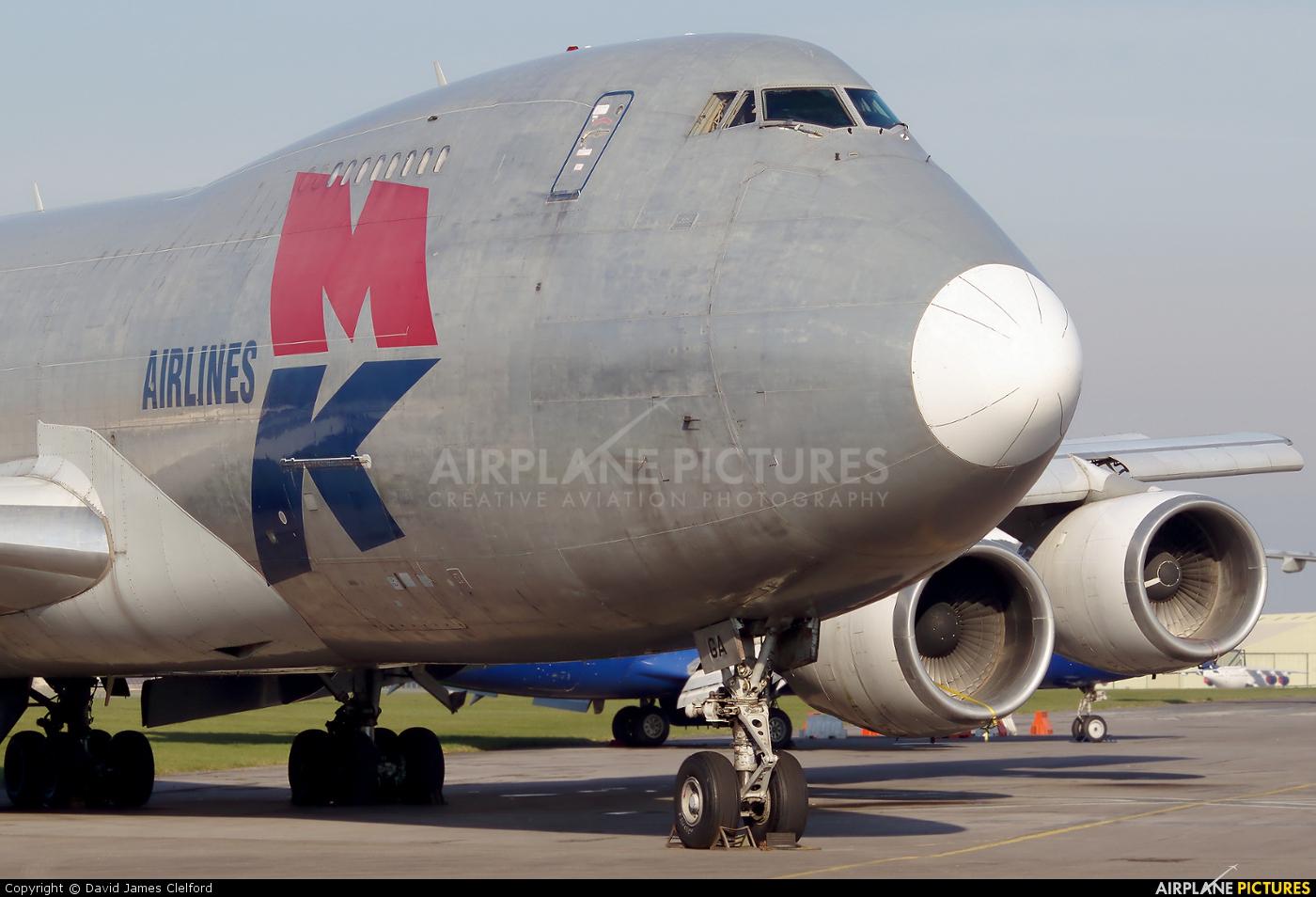 MK Airlines G-MKGA aircraft at Kemble