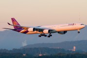 HS-TNB - Thai Airways Airbus A340-600 aircraft