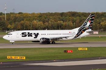 TC-SKD - Sky Airlines (Turkey) Boeing 737-400