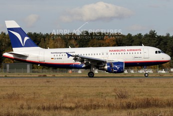 D-AHHA - Hamburg Airways Airbus A319