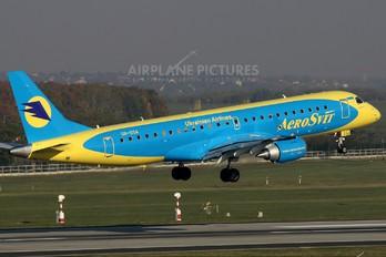 UR-DSA - Aerosvit - Ukrainian Airlines Embraer ERJ-190 (190-100)