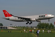 N851NW - Northwest Airlines Airbus A330-200 aircraft