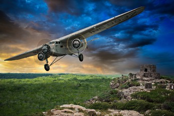 - - Pan Am Ford 4-AT-E Trimotor