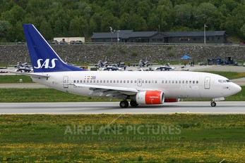 LN-RPJ - SAS - Scandinavian Airlines Boeing 737-700