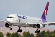 N587HA - Hawaiian Airlines Boeing 767-300ER aircraft