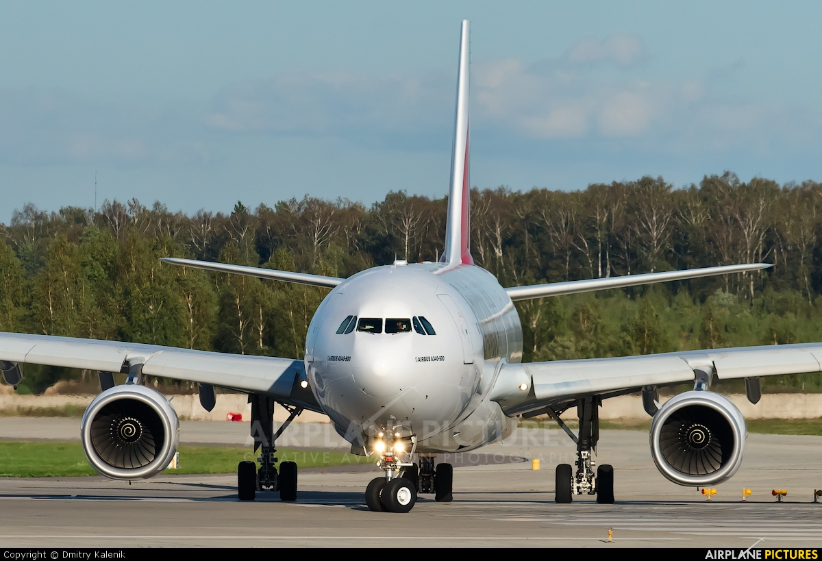 Emirates Airlines A6-ERB aircraft at Moscow - Domodedovo