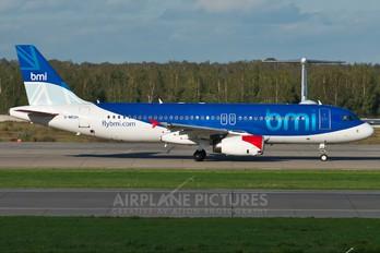 G-MEDH - BMI British Midland Airbus A320