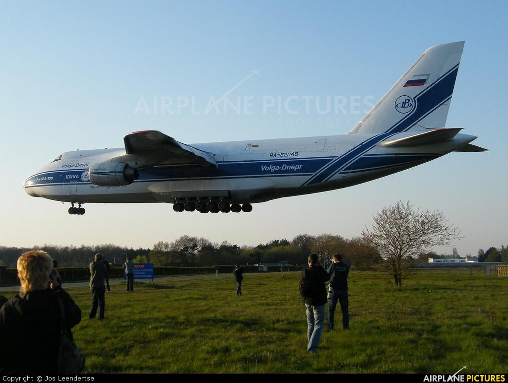 Volga Dnepr Airlines RA-82045 aircraft at Gilze-Rijen