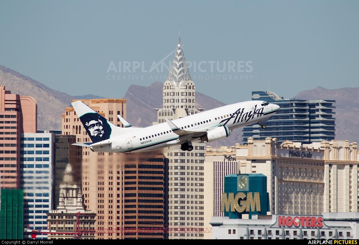N622as Alaska Airlines Boeing 737 700 At Las Vegas