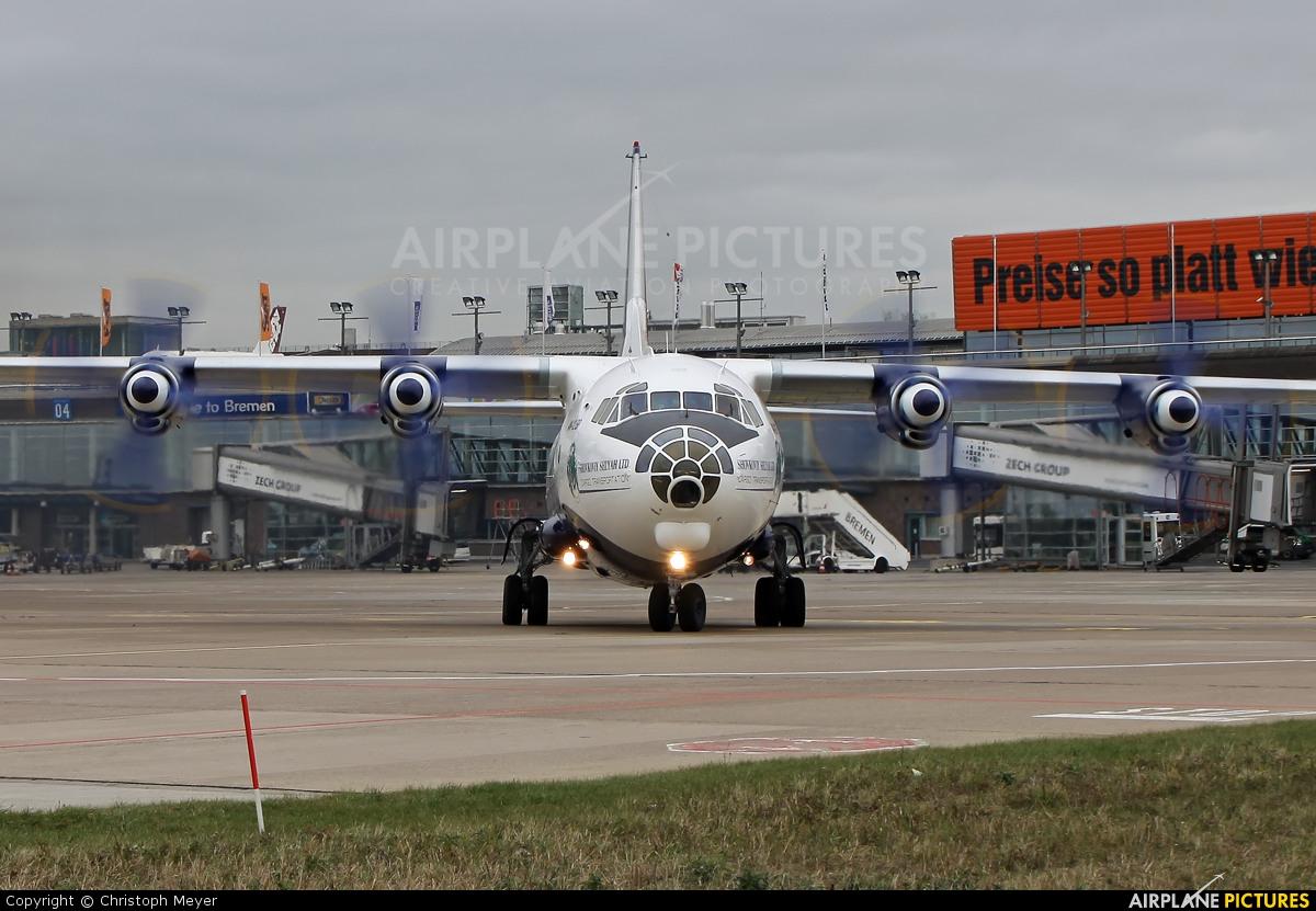 Shovkoviy Shlyah Airlines UR-CGX aircraft at Bremen
