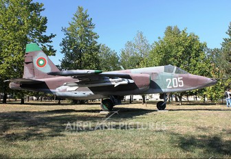 205 - Bulgaria - Air Force Sukhoi Su-25K