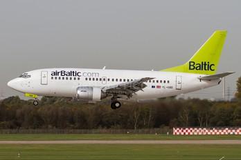 YL-BBQ - Air Baltic Boeing 737-500